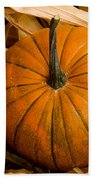 Patriotic American Pumpkin Bath Towel