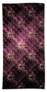 Pattern Of Stars Bath Towel
