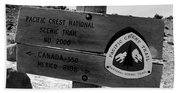Pct Scenic Trail Hand Towel