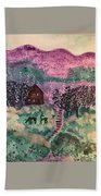 Peace In The Valley Bath Towel