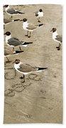 Peace On The Beach Hand Towel