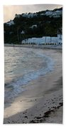 Peaceful Evening On Dawn Beach Bath Towel
