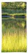 Peaceful Marsh Bath Towel