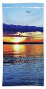 Peaceful Sunset Hand Towel