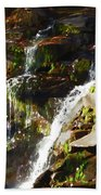 Peaceful Waterfall Bath Towel