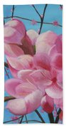 Peach Blossoms Bath Towel