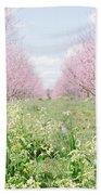 Peach Orchard 4 Bath Towel