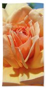 Peach Rose Art Prints Roses Flowers Giclee Prints Baslee Troutman Bath Towel