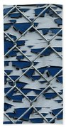 Pealing Paint Fence Abstract 2 Bath Towel