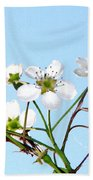 Pear Tree Blossoms 6 Bath Towel