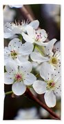 Pear Tree Blossoms II Bath Towel
