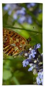 Pearl-bordered Fritillary Bath Towel