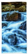 Pearsons Falls On Colt Creek Bath Towel