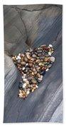 Pebble Beach Rocks 8778 Bath Towel