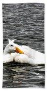 Pekin Ducks Bath Towel
