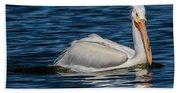 Pelican Wake Bath Towel