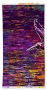 Pelikan Bird Brown Pelican  Bath Towel