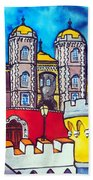 Pena Palace In Sintra Portugal  Bath Towel