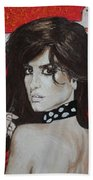 Penelope Cruz Bath Towel
