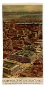 Pennsylvania Station 1910 Bath Towel