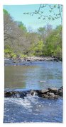 Pennypack Creek - Philadelphia Bath Towel