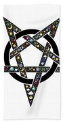 Pentacle Bath Towel