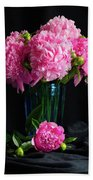 Peonies - Beauty The Brave Hand Towel