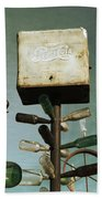 Pepsi Bottle Tree - Route 66 Bath Towel