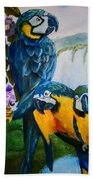 Perched In Paradise Bath Towel