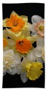 Perfect Ring Of Daffodils Bath Towel