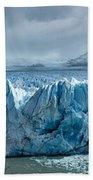 Perito Moreno Glacier Pano Bath Towel
