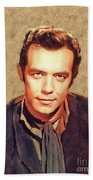 Pernell Roberts, Vintage Actor Bath Towel
