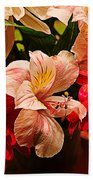 Peruvian Lily Grain Bath Towel