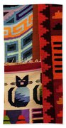 Peruvian Tapestries  Bath Towel