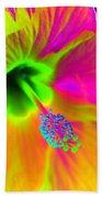 Petal Power - Hibiscus - Photopower 3260 Bath Towel