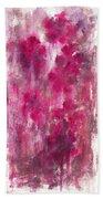 Petals In The Night Bath Towel