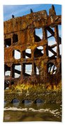 Peter Iredale Shipwreck - Oregon Coast Bath Towel