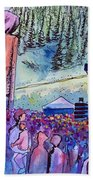 Peter Rowen At Copper Mountain Hand Towel