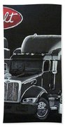 Peterbilt Trucks Bath Towel