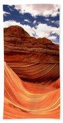 Petrified Dunes Landscape Bath Towel