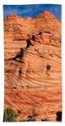 Petrified Sand Dunes Bath Towel