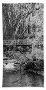 Petrifying Springs Park Bridge  Bath Towel