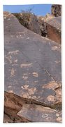 Petroglyphs Bath Towel