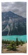 Peyto Lake Banff Bath Towel