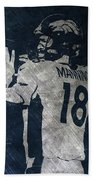 Peyton Manning Broncos 2 Bath Towel