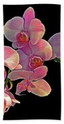 Phalaenopsis Orchid Bath Towel