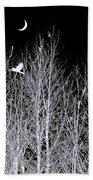 Phantom Birds Bath Towel