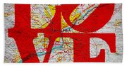 Philly Love V1 Hand Towel