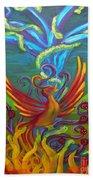 Phoenix Bird Bath Towel
