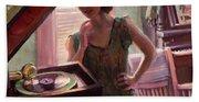 Phonograph Days Hand Towel